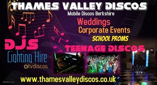 Thames Valley Discos Logo